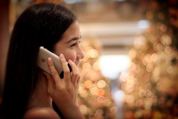 Conversando ao telefone
