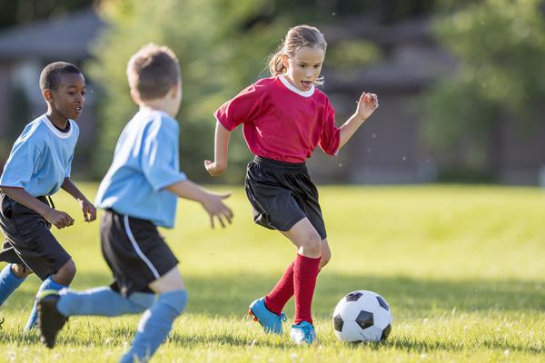 Praticando esportes