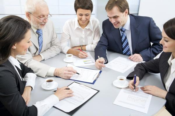 Ao participar de uma reunião